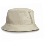 Result Deluxe Washed Cotton Bucket Hat with Side Mesh Panels - Suffolk Insignia